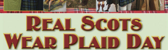 Real Scots Wear Plaid Day